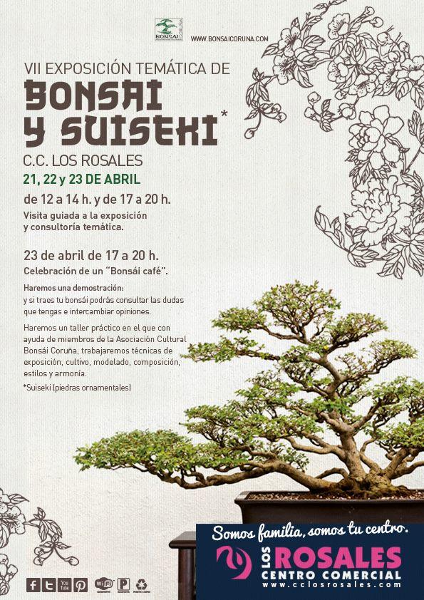 VII Exposición Temática de Bonsáis y Suiseki Centro Comercial Los Rosales